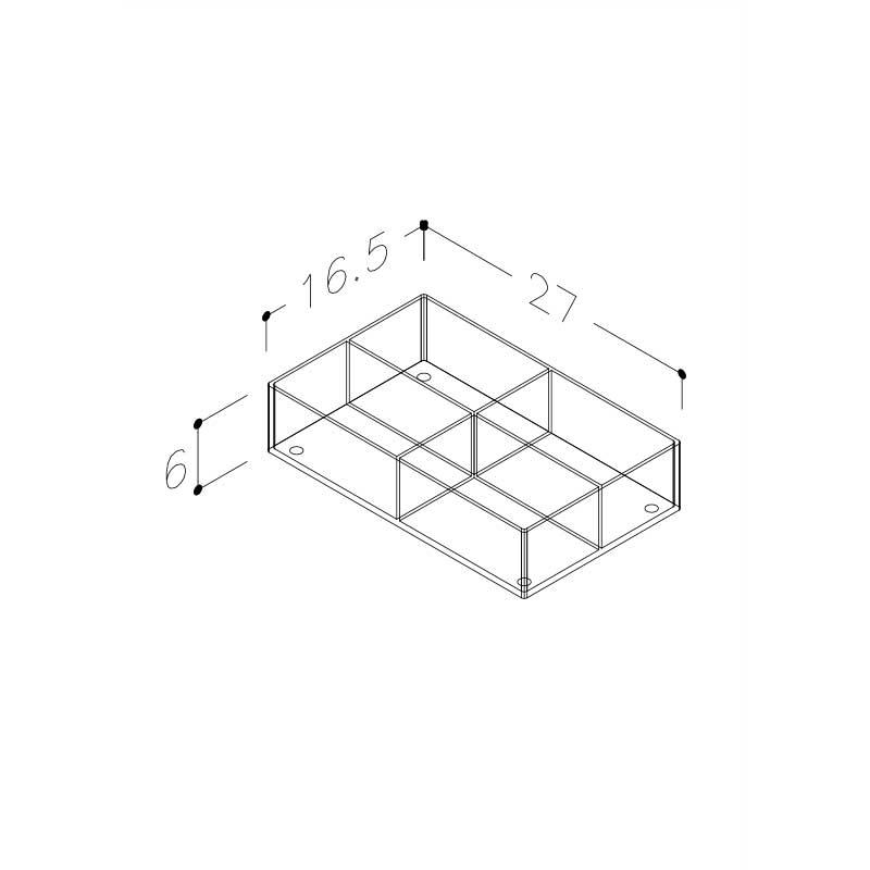Plexiglas Kasser