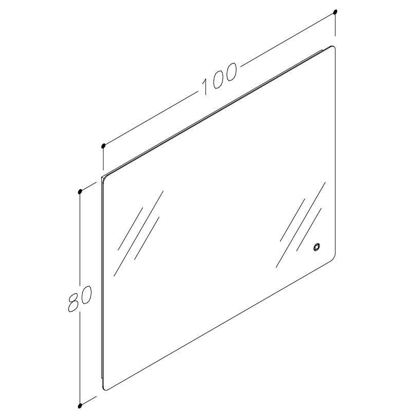 Grace Mrl 100 80 Stregtegning Spejl