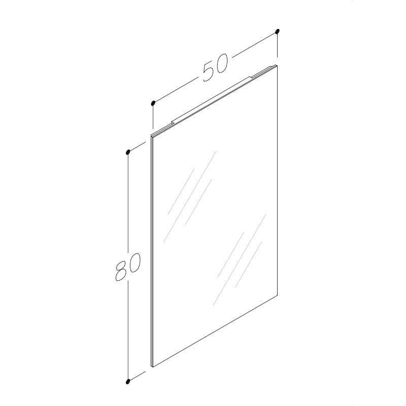 Primo M 50 80 Stregtegning Spejl