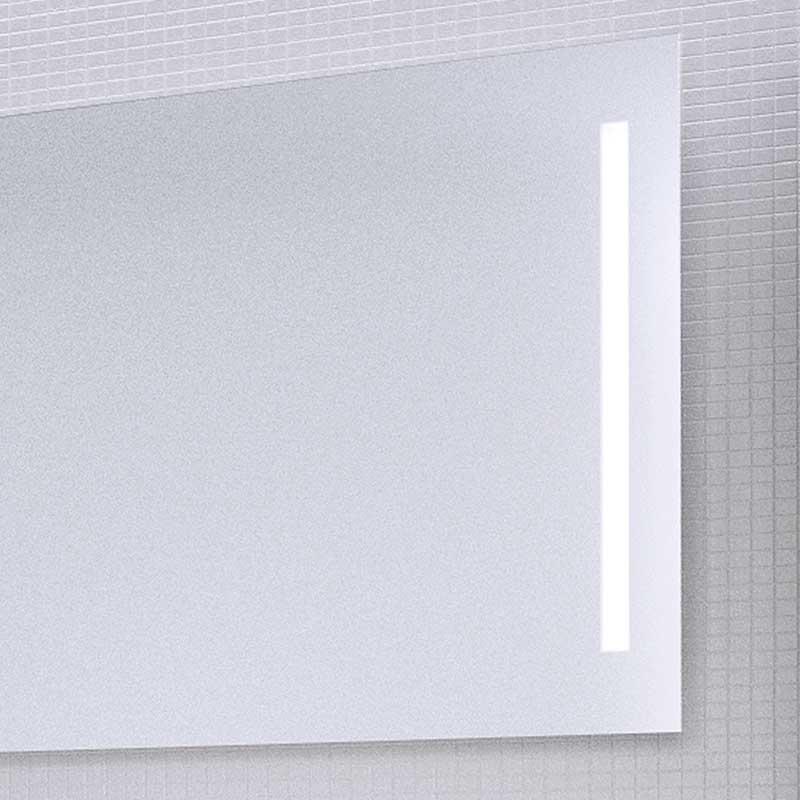 Como Spejl Med Integreret Lys